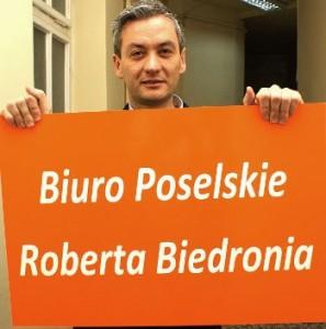 Biuro poselskie również jest już historią fot: salon24.pl