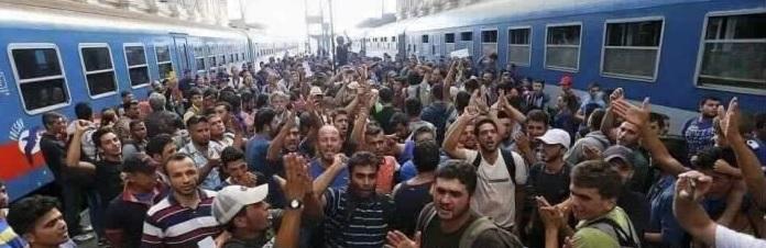 Dworzec w Monachium - kobiety i dzieci bezpiecznie dotarły do Europy