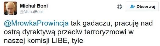 """Michał """"TW Znak"""" Boni, znany z głodówki rotacyjnej oraz dostaniu w mordę od Korwina-Mikke"""