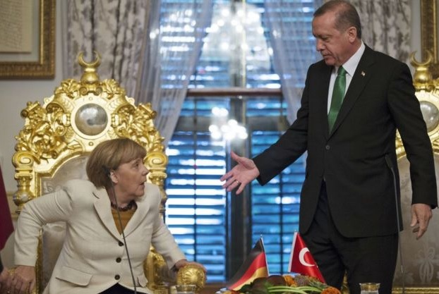 Merkel i Erdogan, fot: bbc.co.uk