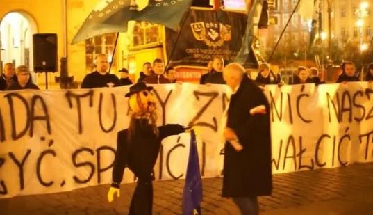 Kukła żyda, fot: niezalezna.pl