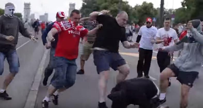 Przed meczem Polska-Rosja, Euro2012, Warszawa