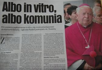 """Jeden z tysięcy paszkwili """"Organu Michnika"""" przeciwko kościołowi"""