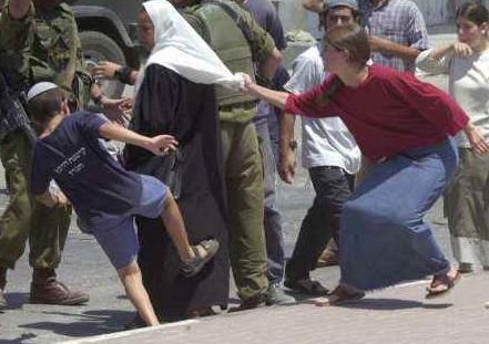 Tolerancja w wydaniu żydowskim. fot:ziomania.com