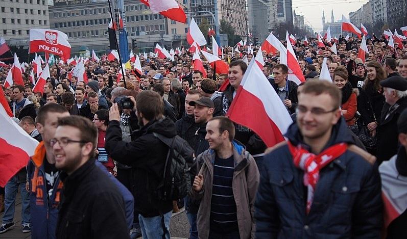 Marsz Niepodległości, fot: eostroleka.pl