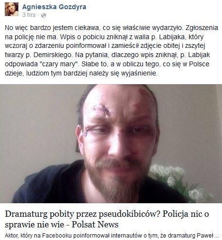 fot: Twitter Gozdyry z Polsatu