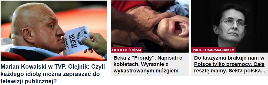 Nagłówki z Gazety SzSz (Szorosza i Szechtera)