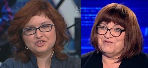 Anna Dryjańska i Krzysiek Bęgowski Anna Grodzka, fot: TVP